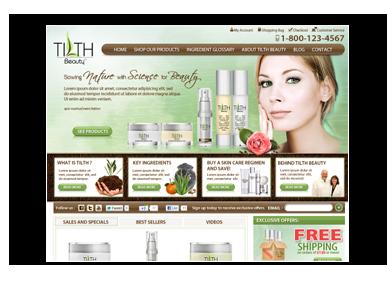 Tilth Beauty Site