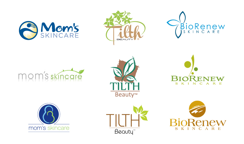 Skin care logo design