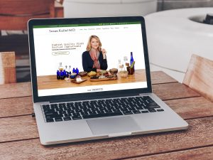 Susan Kallal Md Skincare Website Mockup By Illumination Consulting 300x225