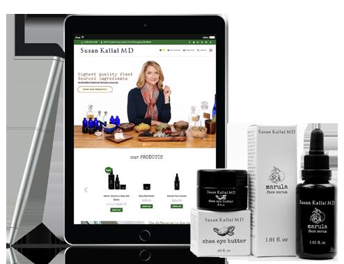 Susan Kallal Portfolio Site Product