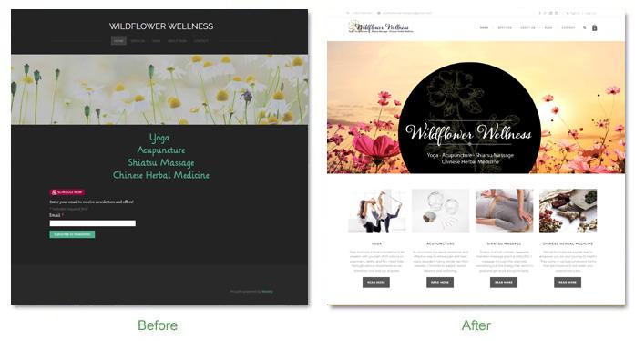 Wildflowerwellness Before After