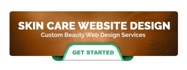 Skin Care Website Design Ad Banner Illumination Consulting 640x240