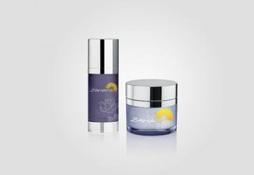 Skin Care Packaging Design Zahara Brand