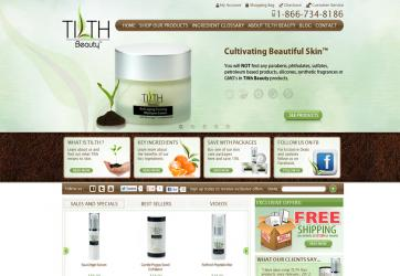 Tilth Beauty Website