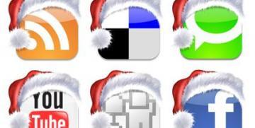 0d4e1651f3087f6c3728b1cc5144b53b christmas social bookmark icons1 360 181 c Home