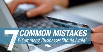 7 Mistakes To Avoid With E-Commerce Websites