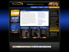 iSportsbook Website