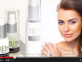 Tilth Beauty Product Video