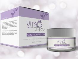 Vital3Derm Packaging Design