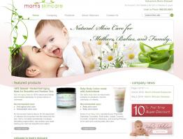 Mom's Skincare Website