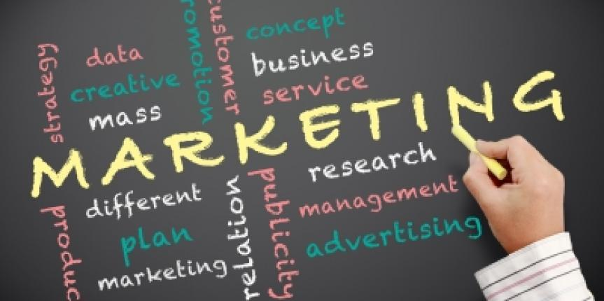 a plan to sell products There are many ways to market to your prospective customers to sell them products and services analyze the market and determine where your largest segments of your target market spend their time .