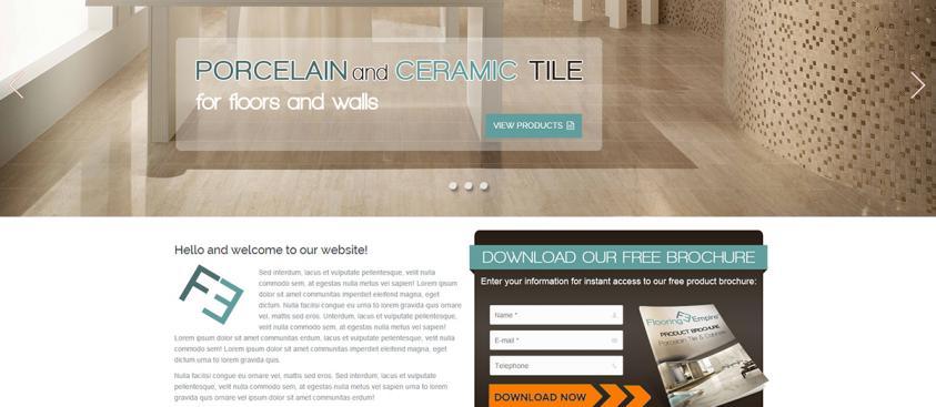 Flooring Empire Website