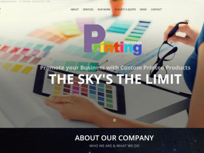 Yeko Printing Website