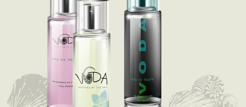 Product Design Skin Care VODA Brand