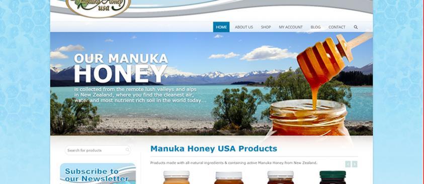 Manuka Honey USA Website