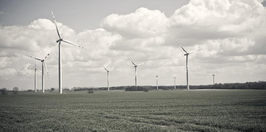 wind turbines farm