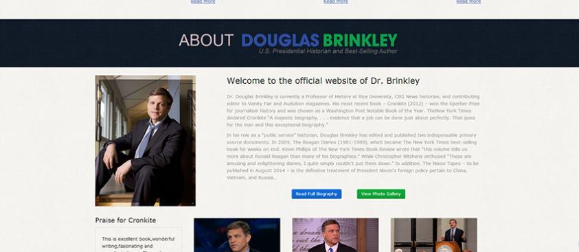 Douglas Brinkley Website