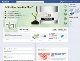 Social Media Customization Tilth Beauty Skincare