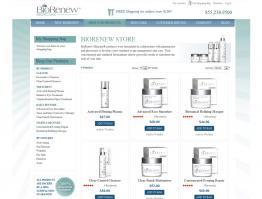 Storefront Design Skin Care Biorenew