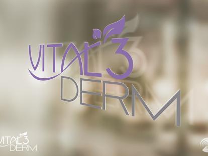 Vital3Derm Logo