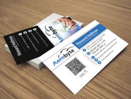 Business Card Design – Aerobyte
